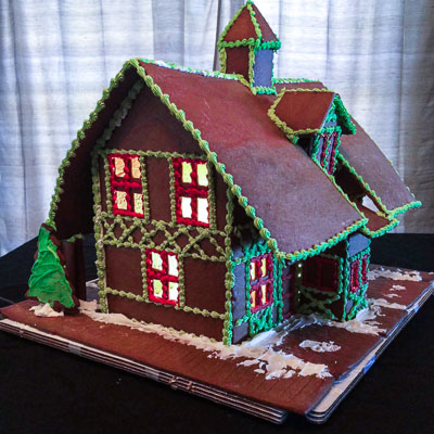 Piermont Historical Society - Gingerbread house garage